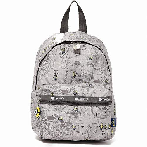 LeSportsac レスポートサック リュックサック 3362 Wanderer Backpack g507 MAP MINIONS [並行輸入商品]