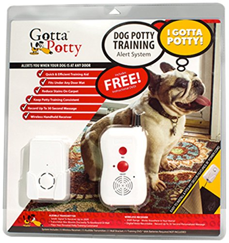 Gotta Potty Mat – Wireless Puppy/Dog Potty Training System – Simple, Fast and Easiest way to Potty Train your pup!