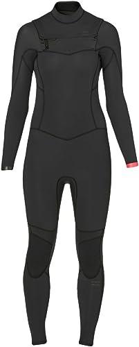 BILLABONG 2016 Ladies Synergy 4 3mm Chest Zip Wetsuit in noir Sands Z44G02