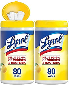 160-Count Lysol Disinfecting Wipes (Lemon & Lime Blossom)