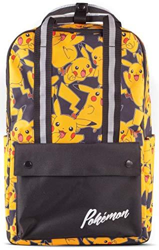 Difuzed - School Bag, Pokemon Mochila Pikachu Unisex adulto, Multicolor