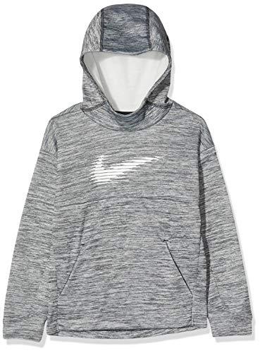 Nike Unisex dziecięca bluza termiczna Black/Htr/White XS