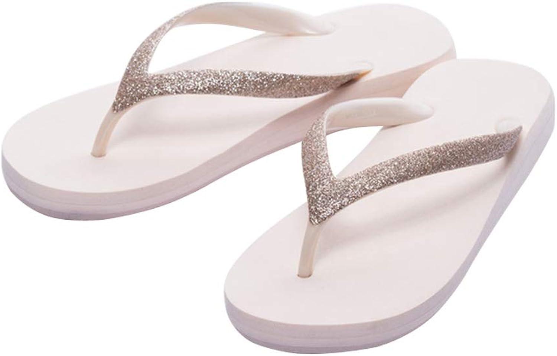 Erwachsene Zehentrenner AUGAUST Damen Flip-Flops Sommer kühlen niedrigen niedrigen niedrigen Ferse für den Strand (Farbe   A, größe   39)  a1bcd5