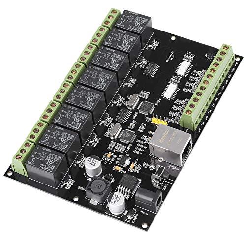 Noblik DC9-24V 8-Wege-Netzwerkrelais-Switch-Controller Ethernet-TCP/IP-Relais Ein-Aus-Ausgang