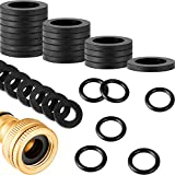 72 Pieces Rubber Hose Washer Tap Sealing Rings Set, Includes 24 Pieces 1/2