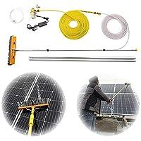 YNWUJIN 屋外清掃用具4.5-9M窓底、窓洗浄剤キット、水/ホース給油ポール、窓のブラシ装置、太陽光発電と太陽電池パネルの屋根,7.5M / 24.6フィート