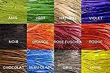Artificiales–rafia natural en color morado ovillo de 50gr