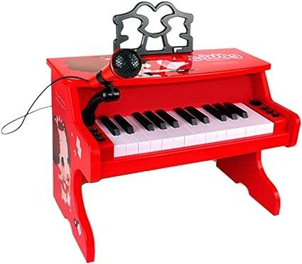 LIUFS-El teclado Piano Juguete Niños Principiante Teclado ...