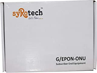 SYROTECH NETWORKS LTD. EPON Optical Network Unit with 1 GE port