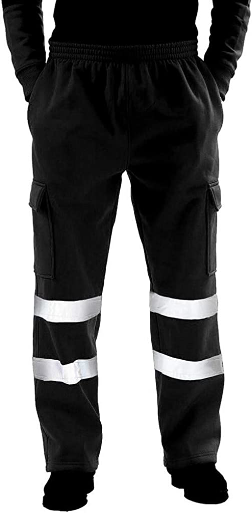 7789 Mens Loose Fitting Pants Tactical Pants High Visibility Pants for Men Tall Casual Work Pants with Pockets