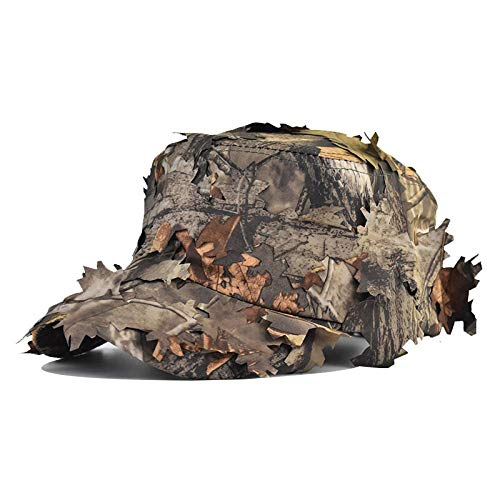 Baseball Kappe Snapback Cap HutJungle Adventure Camouflage Laub Camouflage Hut Herren Sommer Outdoor Field Battle Bionic Camouflage Baseball Cap New Adjustable Style4