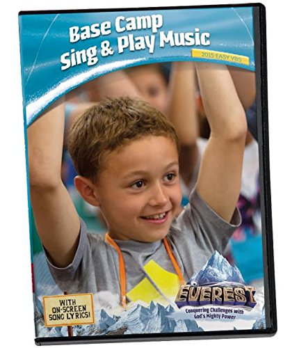 Everest VBS Vacation Bible School Base Camp Sing & Play Music DVD