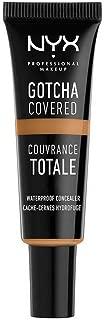 NYX Professional Makeup Gotcha Covered Concealer, Deep Honey, 0.27 Fluid Ounce