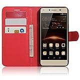 SMTR Huawei Y5II / Huawei Y5 2 Coque PU Cuir Flip Housse Étui Cover Case Wallet Portefeuille...