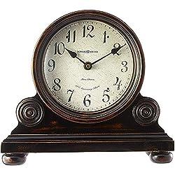Howard Miller Murray Mantel Clock 635-150 – Vintage Design with Quartz, Triple-Chime Movement