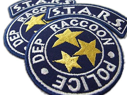 ONEKOOL Aufnäher zum Aufbügeln, Motiv: Resident Evil S.T.A.R.S. Waschbär City Police
