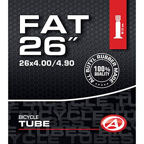 Author Fahrrad Schlauch Butyl 26 Zoll AV Autoventil 32mm 100/130-559 Fatbike