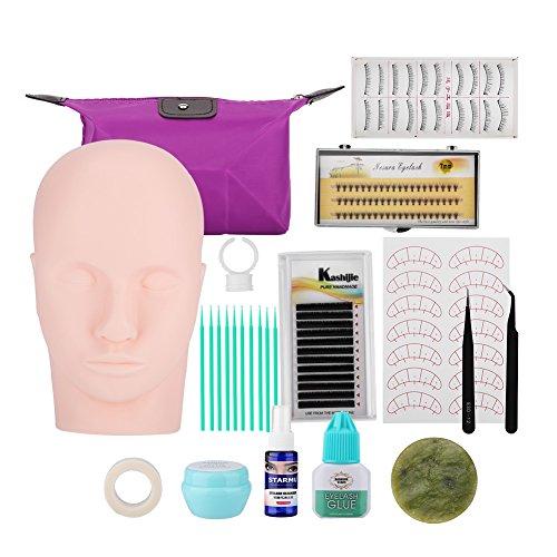 Qkiss Individual Eyelash Extension Glue Remover Tools Set Mujeres Kit de...