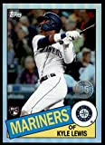 2020 Topps Chrome 1985 Baseball #85TC-22 Kyle Lewis Rookie Card. rookie card picture