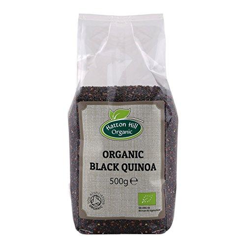 Bio Quinoa Schwarz 500g von Hatton Hill Organic - BIO zertifiziert