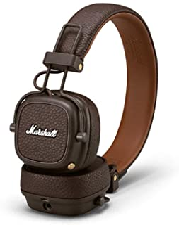 Marshall Major III Bluetooth Wireless On-Ear Headphones (Brown)
