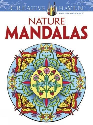 Price comparison product image Creative Haven Nature Mandalas Coloring Book (Creative Haven Coloring Books)