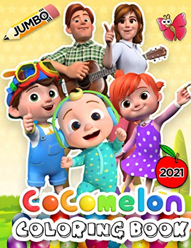 Cocomelon Coloring Book: Cocomelon 2021 Animation Coloring Artwork With Best Unofficial Pictures
