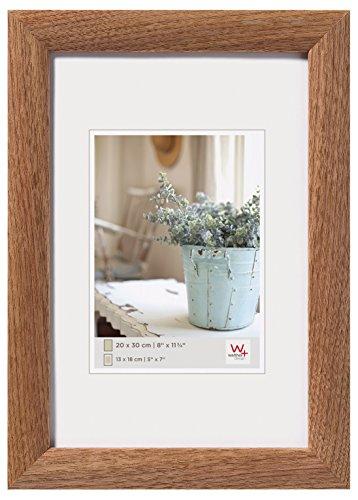 Walther Interieur Fotolijst, Hout, Walnoot, 40 x 60 x 1,5 cm