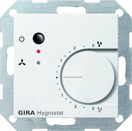 Gira 226503 Hygrostat System 55, reinweiß