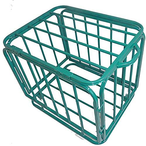 JIAGU Rack de Bola de Garaje Estructura de Almacenamiento de Baloncesto de Acero Inoxidable Bastidor de Almacenamiento de fútbol Plegable para la Escuela Almacenamiento Vertical