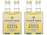Fever-Tree - Agua Premium Indian Tónica - 2 packs de 4 botellas (total 8 botellas, 1600 ml)