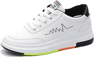 [KKRO] ククロ ランニングシューズ 原宿スタイル スニーカー PUレザー レディース ウォーキングシューズ 通学 通勤 日常着用 軽量 運動靴