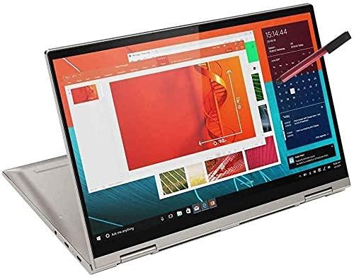"2020 Lenovo Yoga C740 2-in-1 14"" FHD Touchscreen Laptop Computer, Intel Quad-Core i5-10210U (Beats i7-7500U), 8GB DDR4 RAM, 256GB PCIe SSD, Windows 10, BROAGE 64GB Flash Stylus, Online Class Ready"