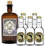 Monkey Gin 1 x 0,5 Liter & 5 x Thomas Henry Tonic 0,2 Liter Set