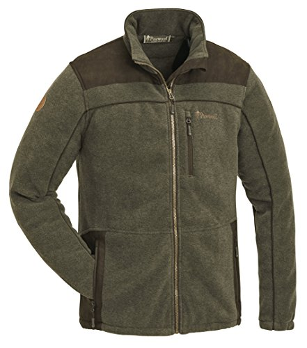 Pinewood PRESTWICK EXKLUSIV Fleece Jacke Winter Jagd Angeln Freizeit Outdoor Fleece Jacke, Grün, L