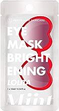 Petite Amie Skincare Miint Brightening Eye Mask, Lolita, 1 ct.