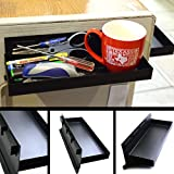 CMS Magnetics Magnetic Tool Tray 12'x4.5'x1.25' Black Tool Organizer w/Side Holding Magnets for Cabinets, Tool Boxes or Kegerator Fridge | Keg Drip Tray | Beer Taps Tray