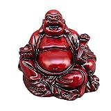 LIOOBO Riendo Buda Riqueza Suerte Estatua decoración del ho