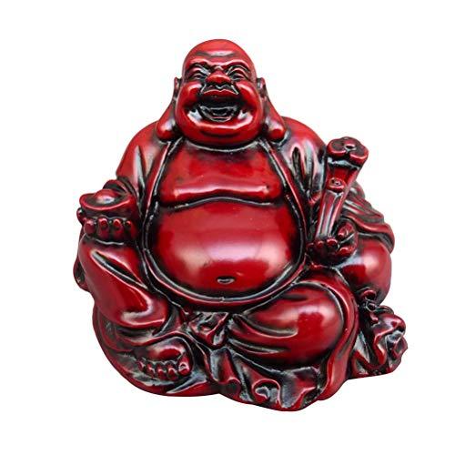AMULETO de Buda riendo - Riqueza y Suerte - Estatua decoración
