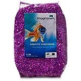 Petco Brand - Grava para acuario Imagitarium Neon Purple, 5 libras