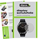 dipos I 6X Schutzfolie matt kompatibel mit TicWatch C2 Smartwatch Folie Bildschirmschutzfolie