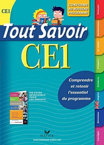 Tout savoir CE1, édition 2009