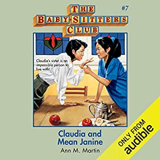 Claudia and Mean Janine audiobook cover art