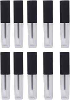 Lurrose 10pcs Empty Lip Gloss Tubes Refillable Travel Lip Gloss Containers 2ml