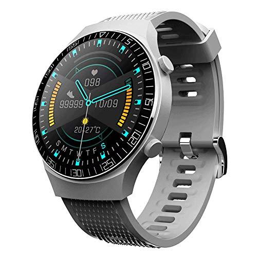 Reloj inteligente, pulsera inteligente inalámbrica a prueba de agua IP67, rastreador de fitness masculino y femenino para deportes al aire libre, pulsera deportiva con pantalla táctil endurecida en 3D