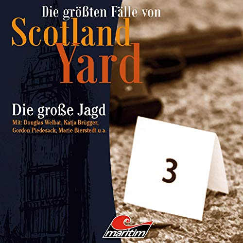 Die große Jagd     Die größten Fälle von Scotland Yard 29              By:                                                                                                                                 Paul Burghardt                               Narrated by:                                                                                                                                 Gordon Piedesack,                                                                                        Patrick Steiner,                                                                                        Douglas Welbat,                   and others                 Length: 59 mins     Not rated yet     Overall 0.0