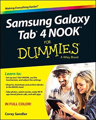 Samsung Galaxy Tab 4 NOOK For Dummies (For Dummies Series)