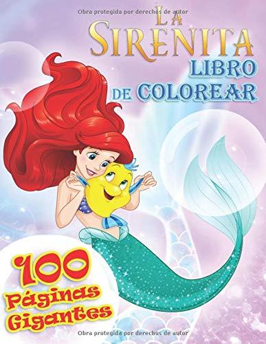 La sirenita Libro de Colorear: la Patrulla Canina Libro para Colorear para Niños y Fanáticos.