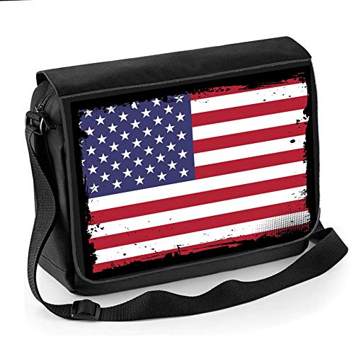 American Flag National Flag of America- & Stars & Stripes – Unisex Kuriertasche