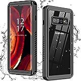 Nineasy for Samsung Galaxy S10 Case, S10 Waterpr